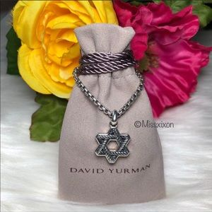 ❤️David Yurman - Star Of David Amulet Necklace
